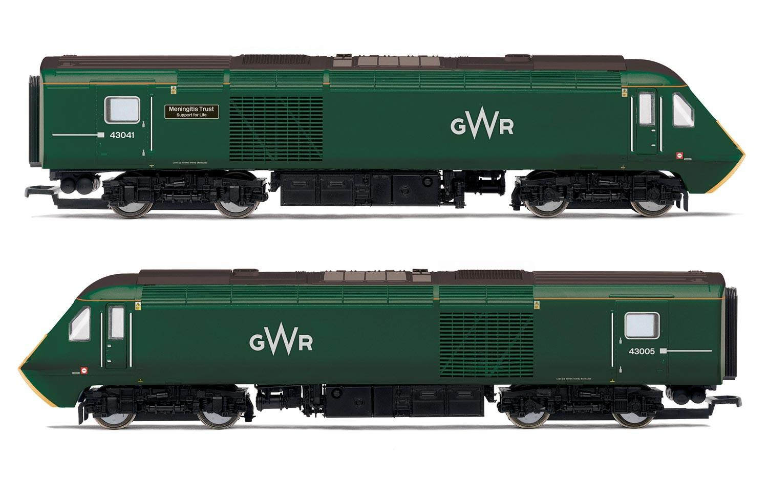 Hornby - R3685 - Class 43 GWR Livery HST Power Cars