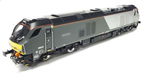 Dapol - 4D-022-011 - Class 68 Late/Modified Chiltern 68 010 Oxford Flyer