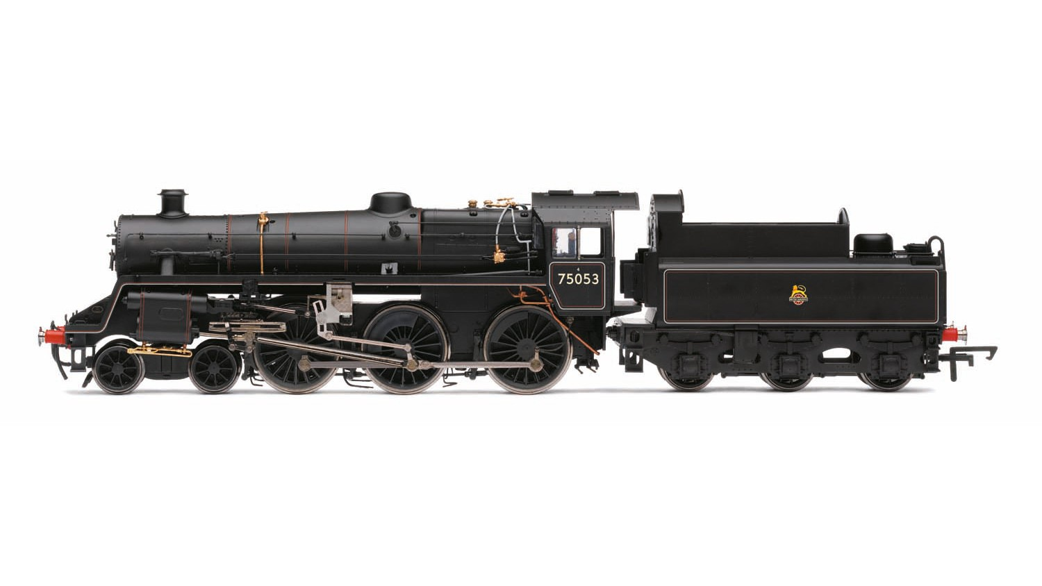Hornby - R3548 - Standard 4MT 4-6-0 75053 BR Black Early
